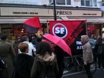 SolFed: Ephesus-Arbeitskampf in Brighton