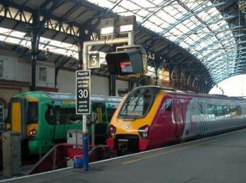 Britische Eisenbahner*innen im Streik
